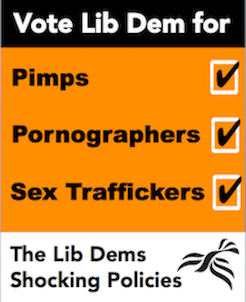 vote lib dem for